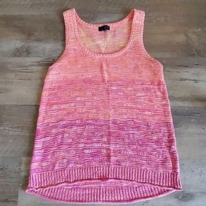Limited ombre tank sweater